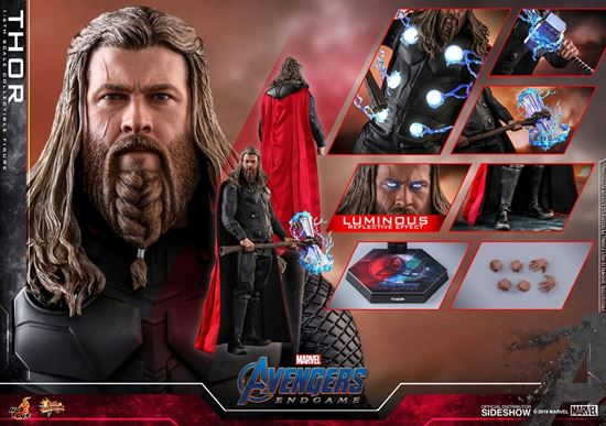 Picture of Avengers: Endgame Figura Movie Masterpiece 1/6 Thor 32 cm