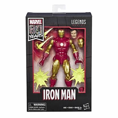 Picture of Hasbro Marvel Lengends Iron Man Alex Ross 80 aniversario