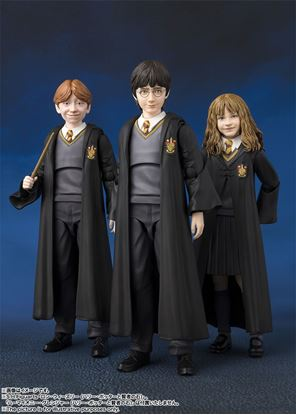 Picture of S.H. Figuarts PACK 3 FIGURAS HARRY POTTER