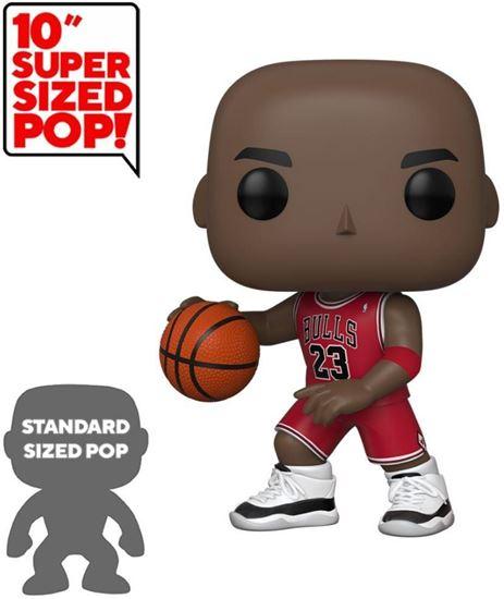 Picture of NBA Figura Super Sized POP! Vinyl Michael Jordan (Red Jersey) 25 cm.