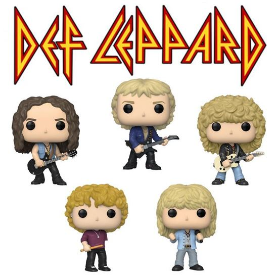 Picture of Def Leppard POP! Rocks Vinyl Figura PACK FECHA APROX: ABRIL 2020