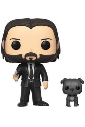 Picture of John Wick POP! Movies Vinyl Figura John Wick in Black Suit with Dog 9 cm DISPONIBLE APROX: MARZO 2020