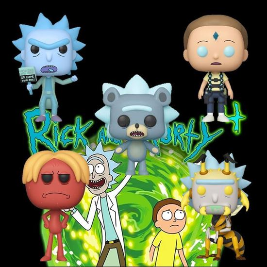 Picture of FUNKO POP PACK RICK Y MORTY DISPONIBLE APROX: DICIEMBRE 2019