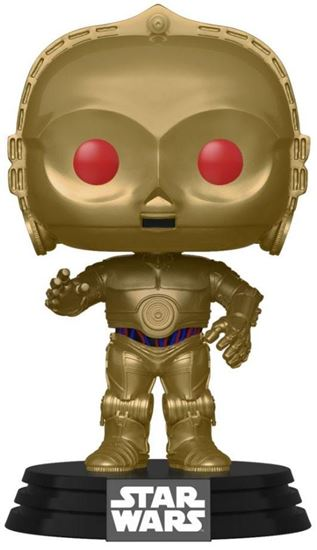 Picture of Star Wars Episode IX POP! Movies Vinyl Figura C-3PO (Red Eyes) 9 cm. DISPONIBLE APROX: ABRIL 2020