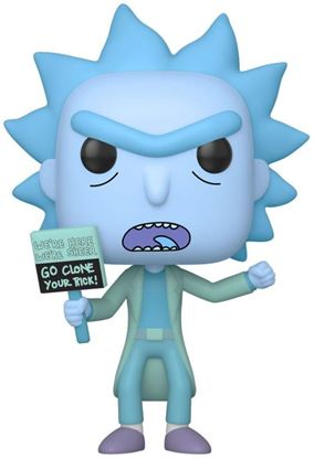 Picture of Rick y Morty POP! Animation Vinyl Figura Hologram Rick Clone 9 cm. DISPONIBLE APROX: DICIEMBRE 2019