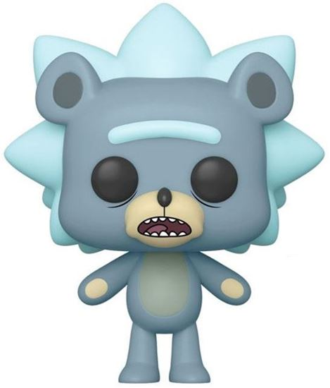 Picture of Rick y Morty POP! Animation Vinyl Figura Teddy Rick 9 cm. DISPONIBLE APROX: DICIEMBRE 2019