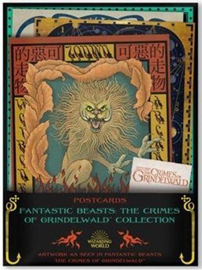 Picture of Set 20 Postales Animales Fantásticos - Los Crímenes de Grindelwald