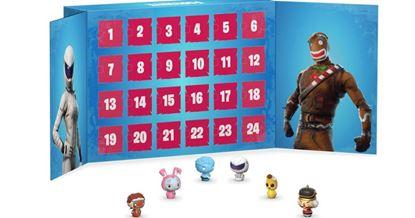 Picture of Calendario de adviento Fortnite! Contenido 24 figuras, tamaño aprox. 4 cm.