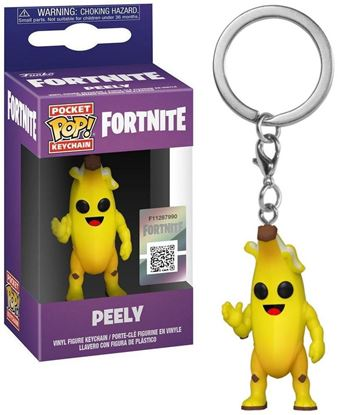 Picture of Fortnite Llavero Pocket POP! Vinyl Peely 4 cm. DISPONIBLE APROX: FEBRERO 2020