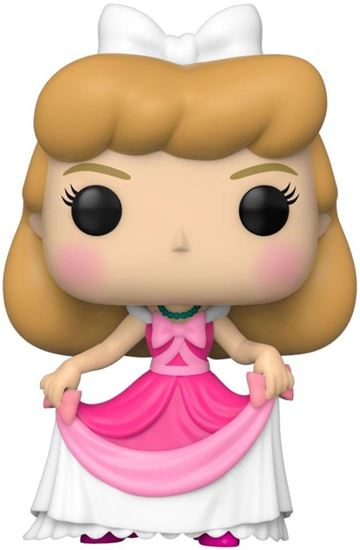 Picture of Cenicienta POP! Disney Vinyl Figura Cenicienta (Vestido Rosa) 9 cm.