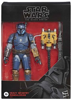 Picture of HEAVY INFANTRY MANDALORIAN DELUXE FIGURA 19 CM STAR WARS BLACK SERIES