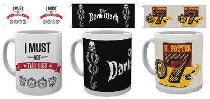 Picture of Pack 3 Tazas Harry Potter