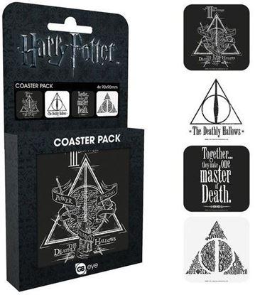 Picture of Harry Potter set de 4 posavasos Reliquias de la Muerte