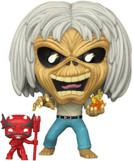Picture of Iron Maiden POP! Rocks Vinyl Figura Number Of The Beast (Skeleton Eddie) 9 cm. DISPONIBLE APROX: MARZO 2020