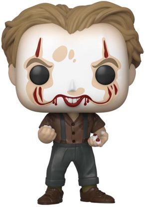 Picture of Stephen King's It 2 POP! Movies Vinyl Figura Pennywise Make-Up 9 cm. DISPONIBLE APROX: MAYO 2020
