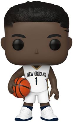 Picture of NBA POP! Sports Vinyl Figura Zion Williamson (New Orleans Pelicans) 9 cm. DISPONIBLE APROX: ABRIL 2020