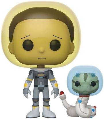 Picture of Rick & Morty POP! Animation Vinyl Figura Space Suit Morty 9 cm. DISPONIBLE APROX: MARZO 2020