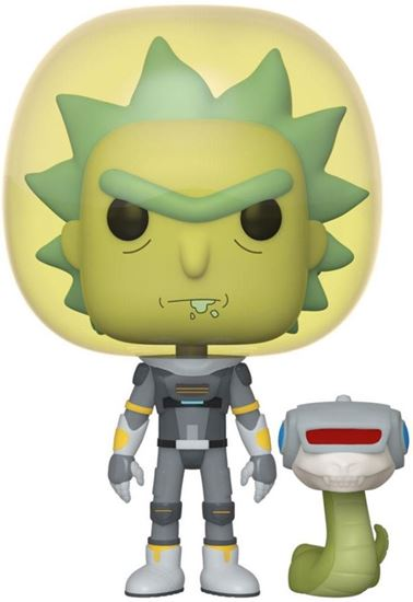 Picture of Rick & Morty POP! Animation Vinyl Figura Space Suit Rick 9 cm. DISPONIBLE APROX: MARZO 2020
