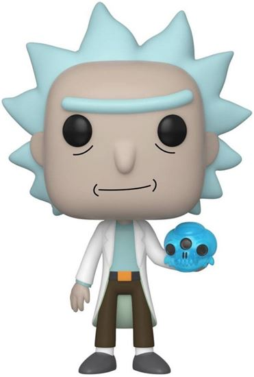 Picture of Rick & Morty POP! Animation Vinyl Figura Rick with Crystals 9 cm. DISPONIBLE APROX: MARZO 2020