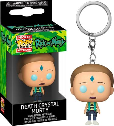 Picture of Rick & Morty Llavero Pocket POP! Vinyl Death Crystal Morty 4 cm. DISPONIBLE APROX: MARZO 2020