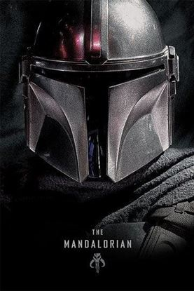 Picture of Star Wars The Mandalorian Poster Dark 61 x 91 cm
