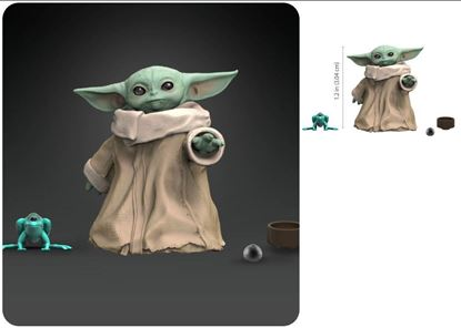 Picture of THE CHILD BABY YODA FIGURA 3,4 CM STAR WARS BLACK SERIES