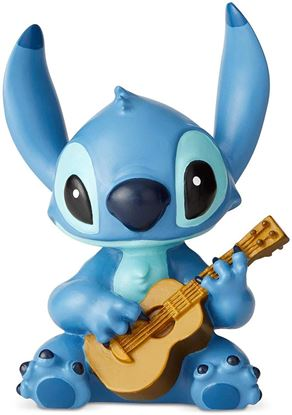Picture of Showcase  Stitch con la Guitarra, Resina, 14.5cm