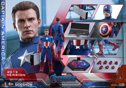 Picture of Vengadores: Endgame Figura Movie Masterpiece 1/6 Captain America (2012 Version) 30 cm RESERVA