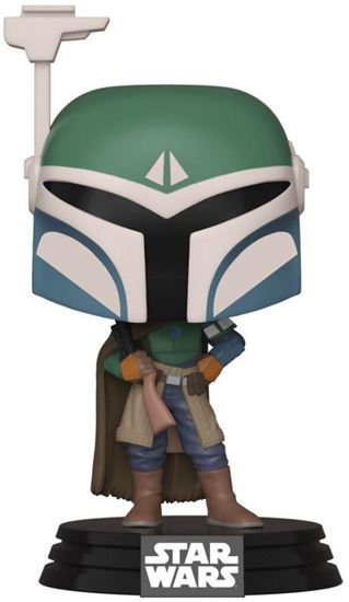 Picture of Star Wars The Mandalorian Figura POP! TV Vinyl Covert Mandalorian 9 cm. DISPONIBLE APROX: MARZO 2020