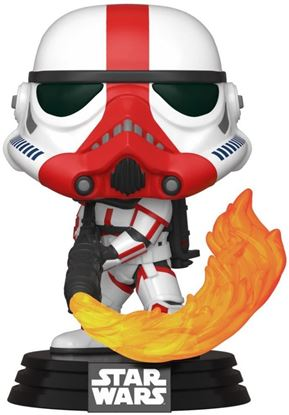 Picture of Star Wars The Mandalorian Figura POP! TV Vinyl Incinerator Stormtrooper 9 cm. DISPONIBLE APROX: MARZO 2020