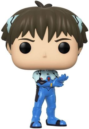 Picture of Evangelion POP! Games Vinyl Figura Shinji Ikari 9 cm