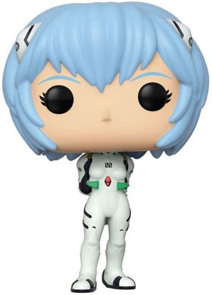 Picture of Evangelion POP! Games Vinyl Figura Rei Ayanami 9 cm