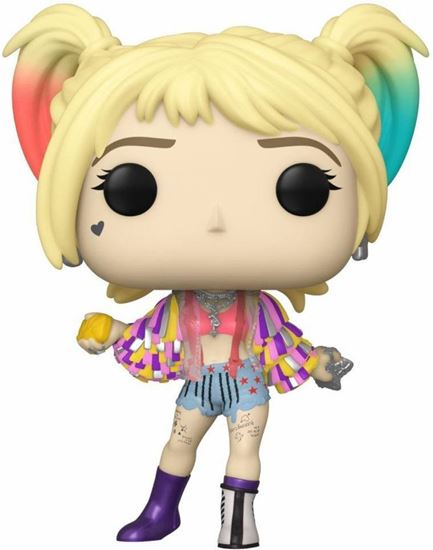 Picture of Birds of Prey POP! Heroes Vinyl Figura Harley Quinn (Caution Tape) 9 cm