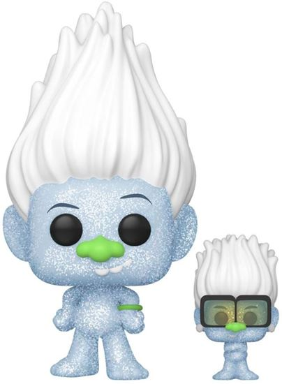 Picture of Trolls World Tour POP! Movies Vinyl Figura Hip Hop Guy (Diamond Glitter) w/ Tiny 9 cm. DISPONIBLE APROX: MARZO 2020