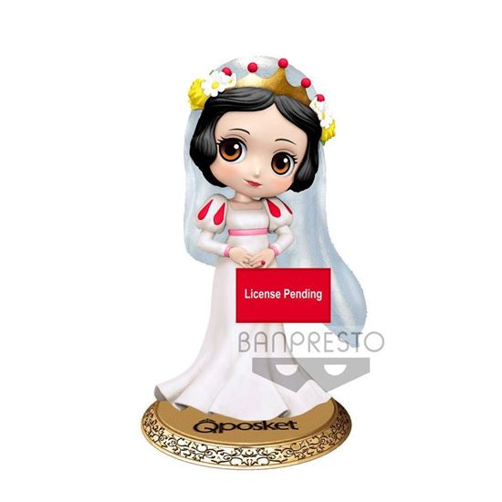 Picture of Disney Minifigura Q Posket Snow White Dreamy Style Ver. A 14 cm
