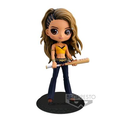 Picture of Birds of Prey Minifigura Q Posket Black Canary Ver. A 14 cm DISPONIBLE APROX: OCTUBRE 2020