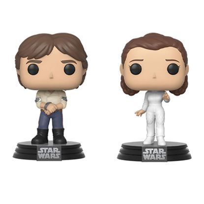 Picture of Star Wars Pack de 2 POP! Movies Vinyl Figuras Han & Leia Empire Strikes Back 40th Anniversary 9 cm DISPONIBLE APROX: MAYO 2020