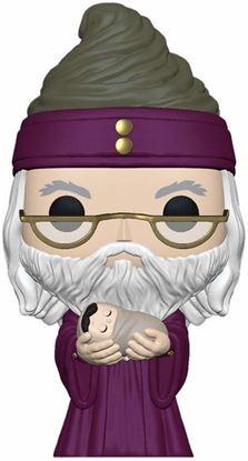 Picture of Harry Potter POP! Movies Vinyl Figura Dumbledore con Baby Harry 9 cm