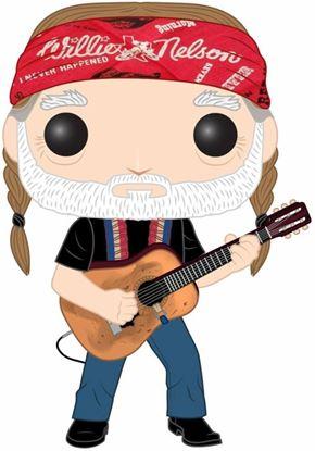 Picture of Willie Nelson POP! Rocks Vinyl Figura Willie Nelson 9 cm. DISPONIBLE APROX: JUNIO 2020