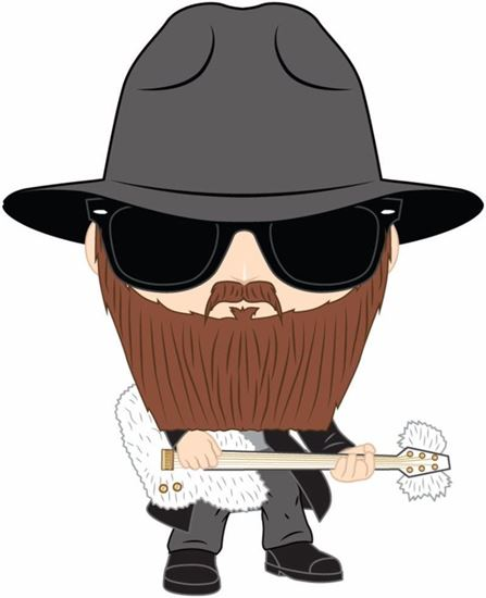 Picture of ZZ Top POP! Rocks Vinyl Figura Billy Gibbons 9 cm.