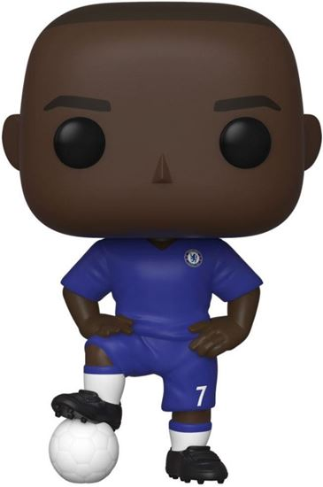 Picture of EPL POP! Football Vinyl Figura N'Golo Kanté (Chelsea) 9 cm. DISPONIBLE APROX: MAYO 2020