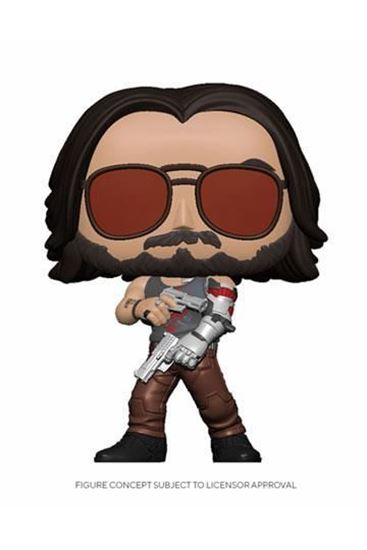 Picture of Cyberpunk 2077 POP! Games Vinyl Figura Johnny Silverhand II 9 cm