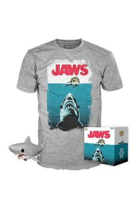 Picture of Tiburón POP! & Tee Set de Minifigura y Camiseta Night Swim