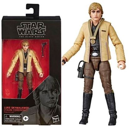 Picture of Star Wars Black Series Luke (Yavin Celebration) 15cm.