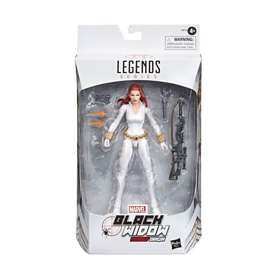 Picture of Marvel Legends Series Figura Black Widow White Suit Deadly Origin 15 cm