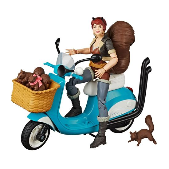 Picture of Marvel Legends Series Figura con vehículo Squirrel Girl 15 cm