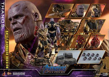 Picture of Vengadores: Endgame Figura Movie Masterpiece 1/6 Thanos Battle Damaged Version 42 cm