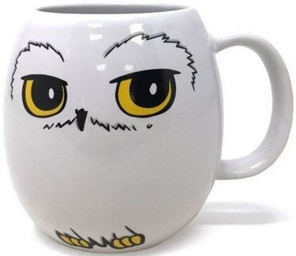 Picture of Taza Ovalada Hedwig - Harry Potter