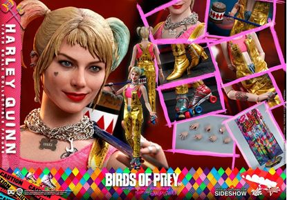 Picture of Birds of Prey Figura Movie Masterpiece 1/6 Harley Quinn 29 cm RESERVA