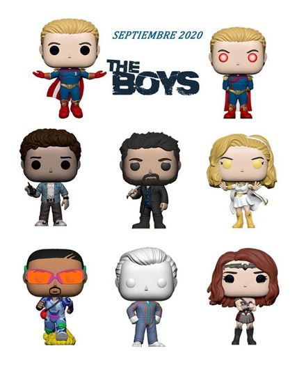 Picture of The Boys POP! PACK  DISPONIBLE APROX: 12/2020